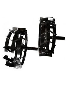 Set roti metalice AgroPro 45 cm 450x200mm manicot hexagon mare 32 mm