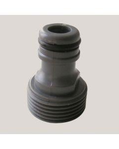 "Adaptor cupla rapida cu FE - plastic 3/4"""