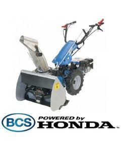 Freza de zapada BCS 615 L - 6.5CP cu motor HONDA
