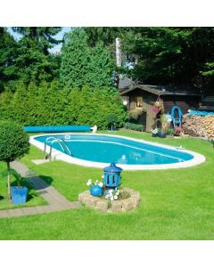 Set piscina ovala 56 m³