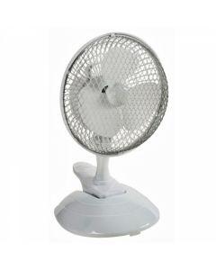 Ventilator de birou DEDRA cu clema si baza 6 inch