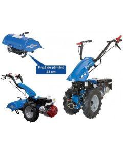 Motocultor BCS 615L MAX HONDA 6.5 CP cu freza de 52 cm 2+2