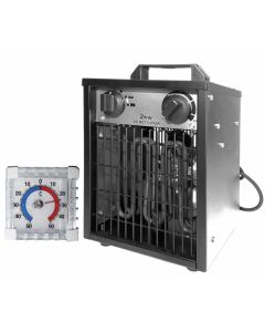 Aeroterma electrica ZOBO ZB-EF3 + CADOU Termometru pentru interior si exterior