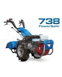 Motocultor BCS 738 Power Safe HONDA GX340 11 CP cu freza de 80 cm