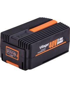 Baterie pentru masini de tuns iarba Villager Li-Ion 40 V 6 Ah
