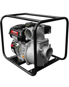 """Motopompa apa Loncin 3"""" motor 6.5 CP refulare 35 m absortie 6 m auto-amorsare"""