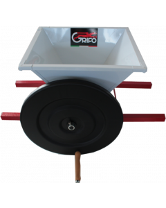Mini zdrobitor struguri manual cuvă vopsea email 400 X 400mm