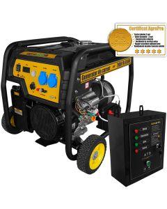 Generator cu automatizare Profesional AgroPro THOR FD 6500E 5.5 KW Panou automatizare motor 13 CP AVR pornire la cheie