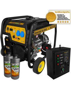 Generator curent Profesional AgroPro THOR FD 6500E 5.5 KW Automatizat motor 13 CP AVR automat pornire la cheie + Cadou 2l ulei motor AgroPro