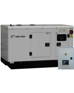 Generator curent trifazat AGT 205 DSEA 249CP 204kVA 400L 2650Kg Diesel + ATS263