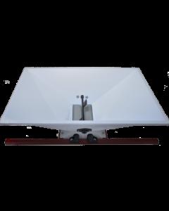 Zdrobitor struguri mare  manual cuvă vopsea emailată 950 X 600 mm