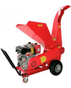 Tocator crengi diesel Breckner Germany TC 13-90-LDE motor 13 CP grosime crengi 90 mm
