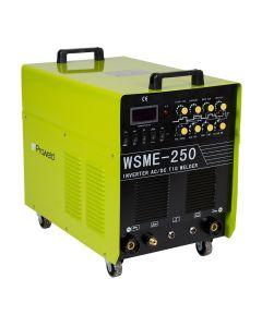 Aparat de sudura PROWELD WSME 250 AC/DC 400V tip invertor MMA/TIG 250A