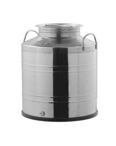 """Bidon Inox Marchisio Tip D """"Economy"""" FUSE25S 25L diametru deschidere 200 mm fara robinet"""