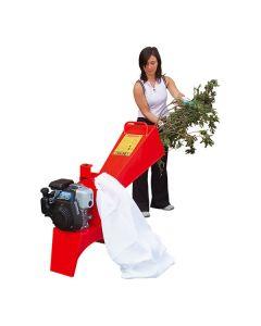 Tocator de crengi si resturi vegetale Caravaggi BIO 50 cu motor Honda GP160