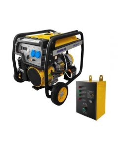 Generator open frame Stager FD 6500E 8CP +ATS