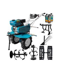 Motosapa DAKARD HS 900 7 CP + roti metal + plug cartofi + prasitoare + 1l ulei motor+ 2l ulei transmisie