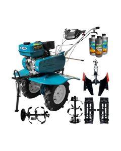 Motosapa DAKARD HS 900 7 CP + roti metalice + plug reversibil + Cadou 1l ulei motor+ 2l ulei transmisie AgroPro
