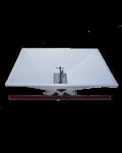 Zdrobitor struguri mare 220 V 1CP cuvă vopsea emailată 950 X 600 mm