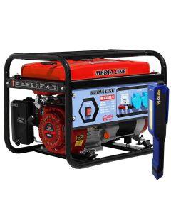 Generator curent monofazat MEDIA LINE MLG 3500/1 + CADOU Lanterna
