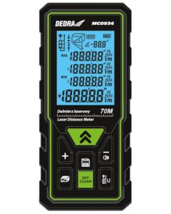 Telemetru laser Dedra MC0934 raza masurare 70 m puncte de referinta 2 acumulatori 2x AAA
