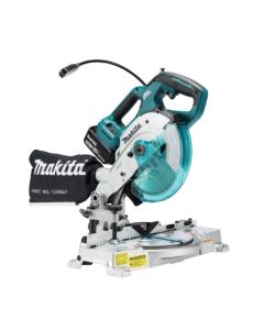 Fierastrau taieri inclinate Makita DLS600Z, panza 165 mm, turatie  5000 rpm, compatibil cu acumulator LXT 18 V