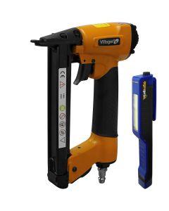 Capsator pneumatic Villager VAT 8016 presiune lucru 6-10 bari lanterna LED magnetica AgroPro